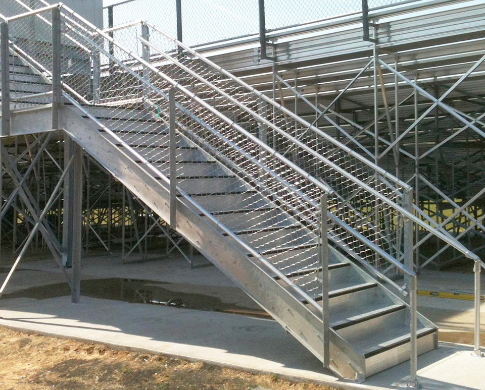Custom Fabricated Stairs