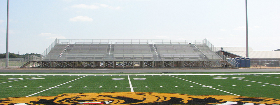 2,500 Seat Angle Frame Grandstand