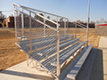 Stadium Bleachers - 5 Row x 21'