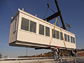 Custom Grandstand Press Box Installation