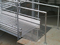 Custom Fabricated Handicap Ramp