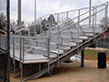 Elevated Stadium Bleachers - I-Beam