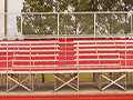 800 Seat Angle Frame Grandstand - Football